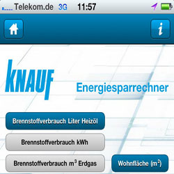 Knauf App iPhone iPad