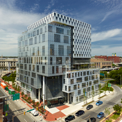 »John and Frances Angelos Law Center« in Baltimore von Behnisch Architekten