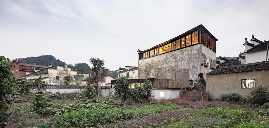Wuyuan Skywells Hotel by anySCALE Architecture Design