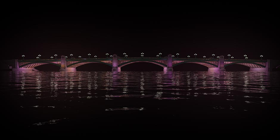Signify 03 Southwark Bridge Illuminated River Leo Villareal Studio 2018